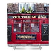 Dublin Ireland - The Temple Bar Shower Curtain