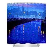 Dublin Starry Nights Shower Curtain