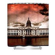 Dublin - The Custom House Shower Curtain