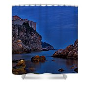 Dubrovnik Bay Shower Curtain
