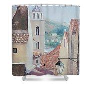 Dubrovnik Croatia Shower Curtain