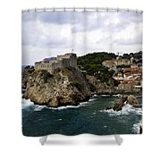 Dubrovnik In Focus Shower Curtain