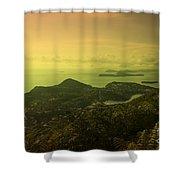 Dubrovnik Islands  Shower Curtain