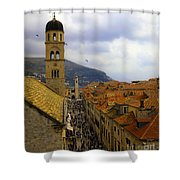 Dubrovnik - Old City Shower Curtain