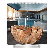 Dubrovnik Palace Pool Shower Curtain