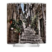 Dubrovnik Streets 6 Shower Curtain