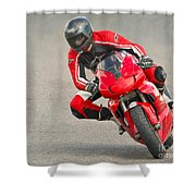 Ducati 900 Supersport Shower Curtain