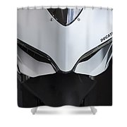Ducati-unplugged V12 Shower Curtain
