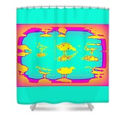 The Ducks Must Have Their Own Heaven Shower Curtain