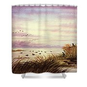Duck Hunting Companions Shower Curtain