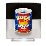 Duck Soap Shower Curtain
