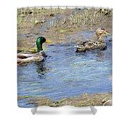 Ducks Unlimited Shower Curtain