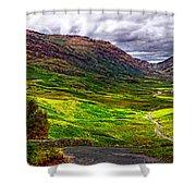 Duddon Valley Shower Curtain