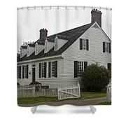 Dudley Diggs House Yorktown Shower Curtain