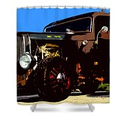 Duece Coupe Shower Curtain
