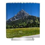 Duendenhorn Mountain Shower Curtain