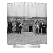 Dugout Church, 1939 Shower Curtain