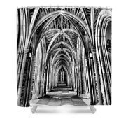 Duke Chapel Arches Shower Curtain