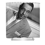 Duke Ellington (1899-1974) Shower Curtain by Granger