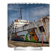 Duke Of Graffiti Shower Curtain