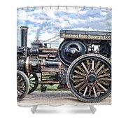 Duke Of York Traction Engine 4 Shower Curtain