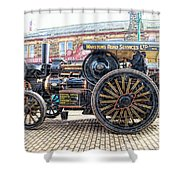 Duke Of York Traction Engine 6 Shower Curtain
