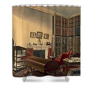Dukes Own Room, Apsley House, By T. Boys Shower Curtain