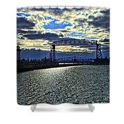 Duluth Lift Bridge Shower Curtain