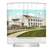 Duluth Minnesota - Northland Country Club - 1915 Shower Curtain