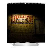 Duluth Trading Company Shower Curtain