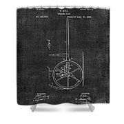 Dumping Cart Patent 011 Shower Curtain