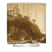 Dunblane Abbey Shower Curtain