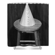 Dunce Hat Shower Curtain