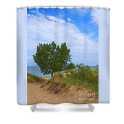 Dune - Indiana Lakeshore Shower Curtain