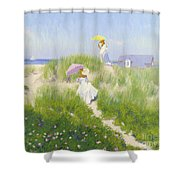 Nantucket Dune Pass  Shower Curtain