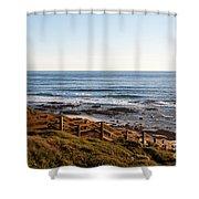 Dune Steps 01 Shower Curtain