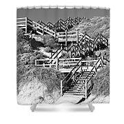 Dune Steps 02 Shower Curtain