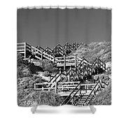 Dune Steps 03 Shower Curtain