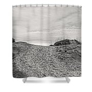 Dune Trail Shower Curtain