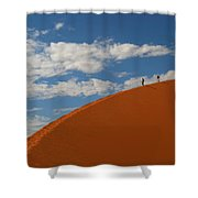 Dune Walkers Shower Curtain