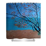 Lake Michigan Dunes Shower Curtain