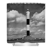 Dungeness Lighthouse Shower Curtain