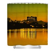 Dunlawton Morning Shower Curtain