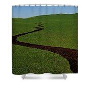 Dunnigan Hills 1 Shower Curtain