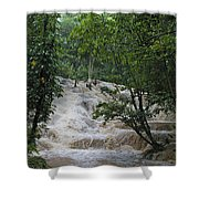 Dunns River Falls 1 Shower Curtain
