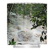 Dunns River Falls 3 Shower Curtain