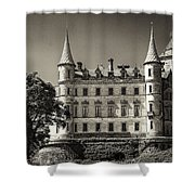 Dunrobin Castle Scotland Shower Curtain