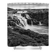 Dunseverick Waterfall Shower Curtain
