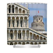 Duomo And Campanile Shower Curtain