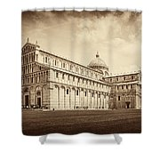 Duomo And Tower Shower Curtain